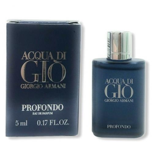 Миниатюры Armani ACQUA DI GIO PROFONDO 5ml edp