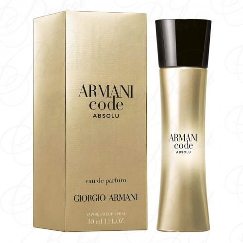 Парфюмерная вода Armani ARMANI CODE ABSOLU POUR FEMME 30ml edp