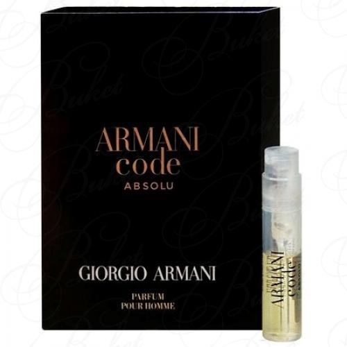 Пробники Armani ARMANI CODE ABSOLU 1.2ml edp