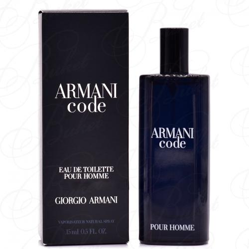 Миниатюры Armani ARMANI CODE MEN 15ml edt