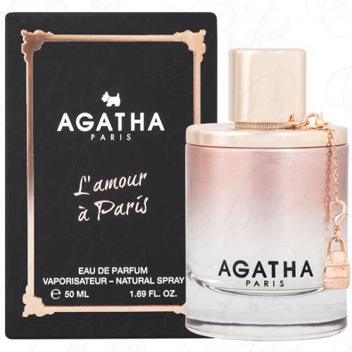 Парфюмерная вода Agatha L`AMOUR A PARIS 50ml edp