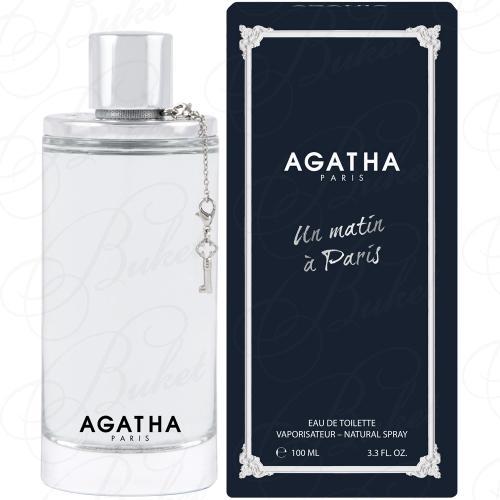 Туалетная вода Agatha UN MATIN A PARIS 100ml edt