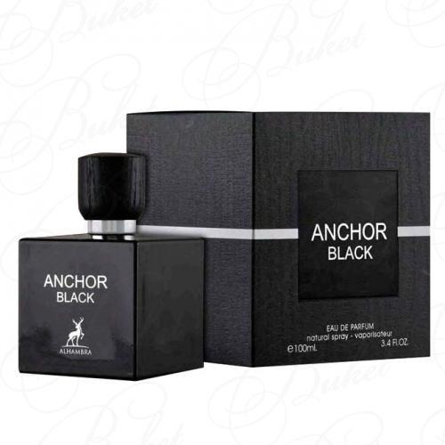 Парфюмированная вода Alhambra ANCHOR BLACK 100ml edp