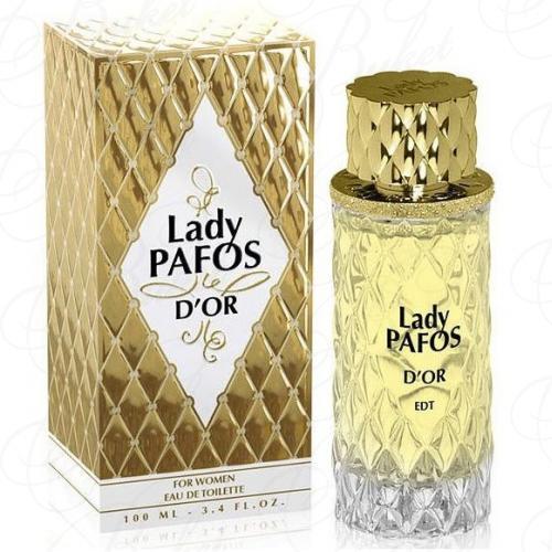 Туалетная вода Art Parfum LADY PAFOS D`OR 100ml edt