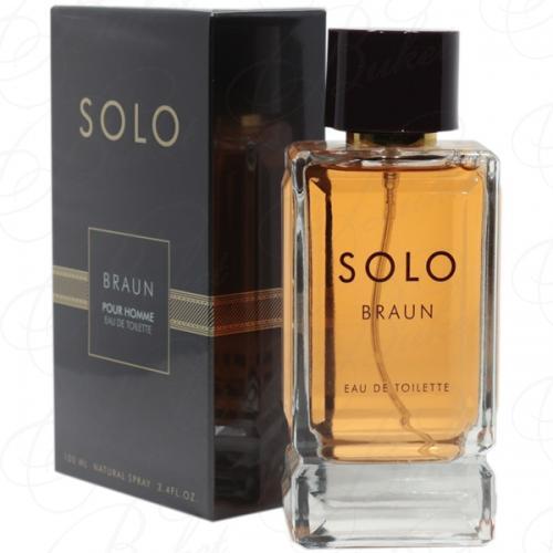 Туалетная вода Art Parfum SOLO BRAUN 100ml edt