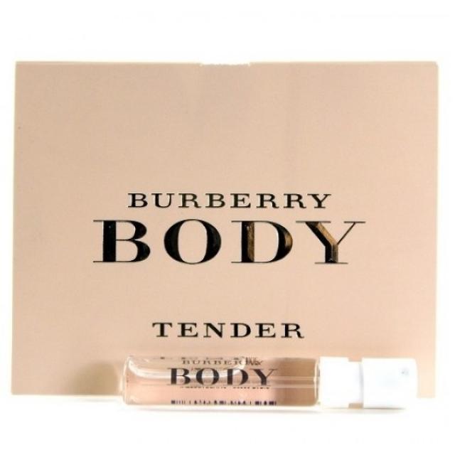 Burberry BURBERRY BODY TENDER 2ml edt купить в интернет-магазине ... ea9b5f0e4904f