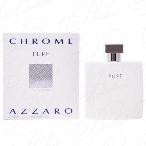 Туалетная вода Azzaro CHROME PURE 100ml edt