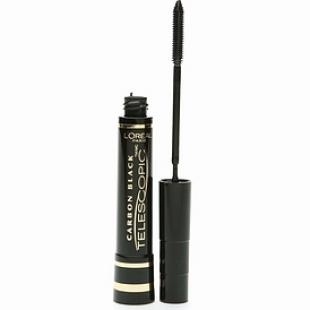 Тушь для ресниц L`OREAL MAKE UP TELESCOPIC CARBON BLACK/Черный уголь