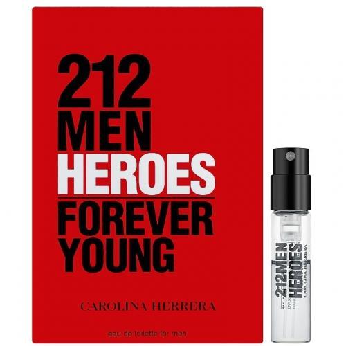Пробники Carolina Herrera 212 MEN HEROES 1.5ml edt