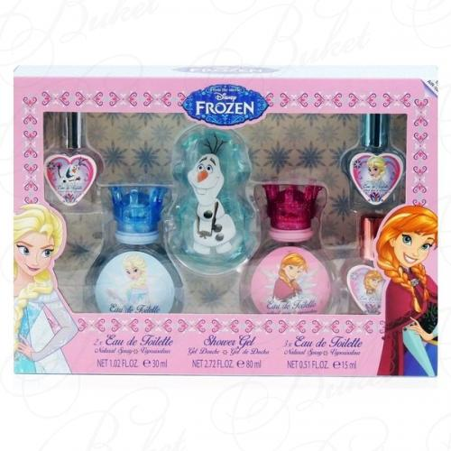 Air-Val International DISNEY FROZEN SET (edt 2*30ml+edt 3*15ml+sh/gel 80ml)