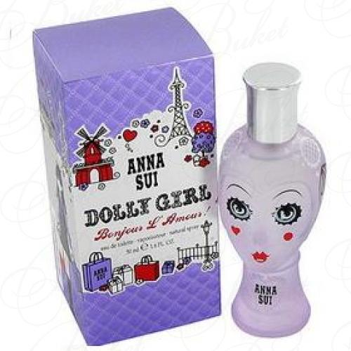 Туалетная вода Anna Sui DOLLY GIRL BONJOUR L'AMOUR! 50ml edt