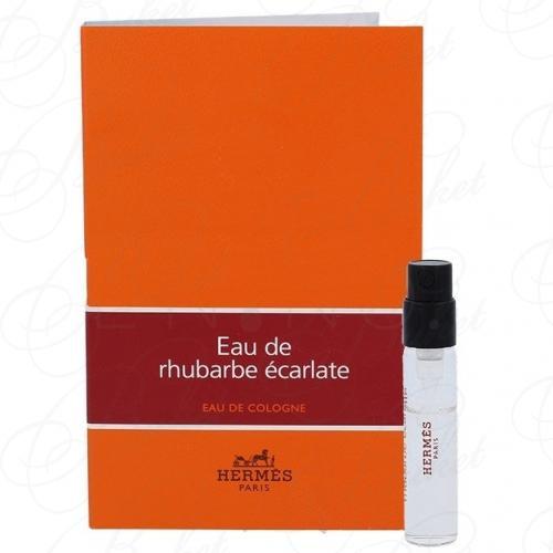 Пробники Hermes EAU DE RHUBARBE ECARLATE 2ml edc