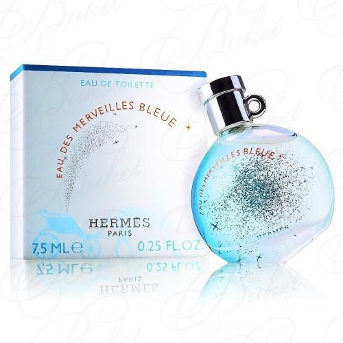 Миниатюры Hermes EAU DES MERVEILLES BLEUE 7.5ml edt