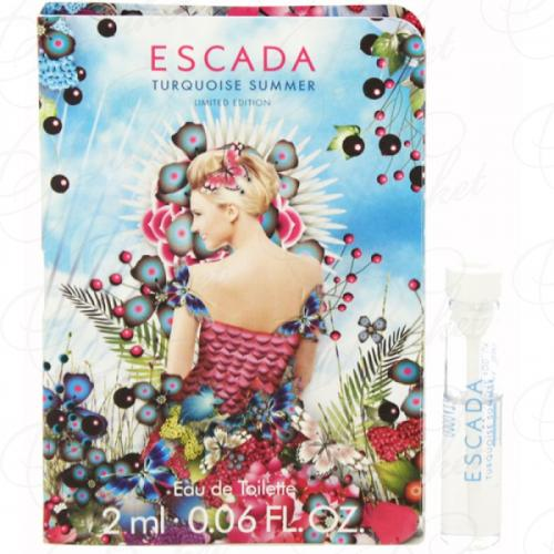 Пробники Escada TURQUOISE SUMMER 2ml edt