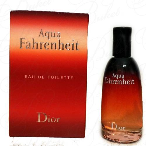 Миниатюры Christian Dior FAHRENHEIT AQUA 10ml edt