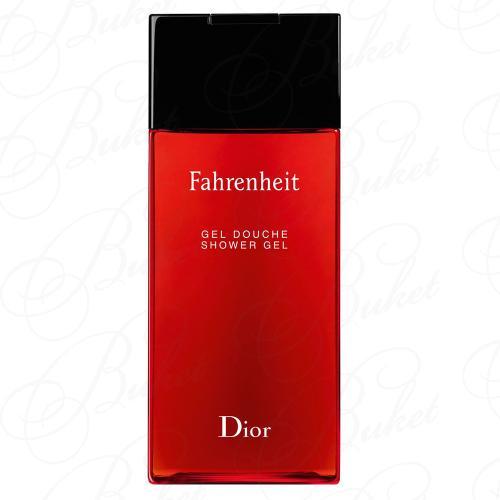 Гель для душа Christian Dior FAHRENHEIT sh/gel 200ml