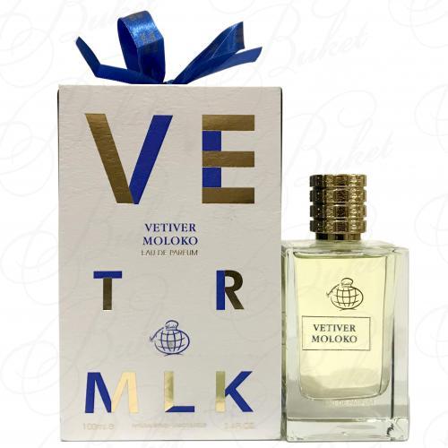 Парфюмированная вода Fragrance World VETIVER MOLOKO 100ml edp