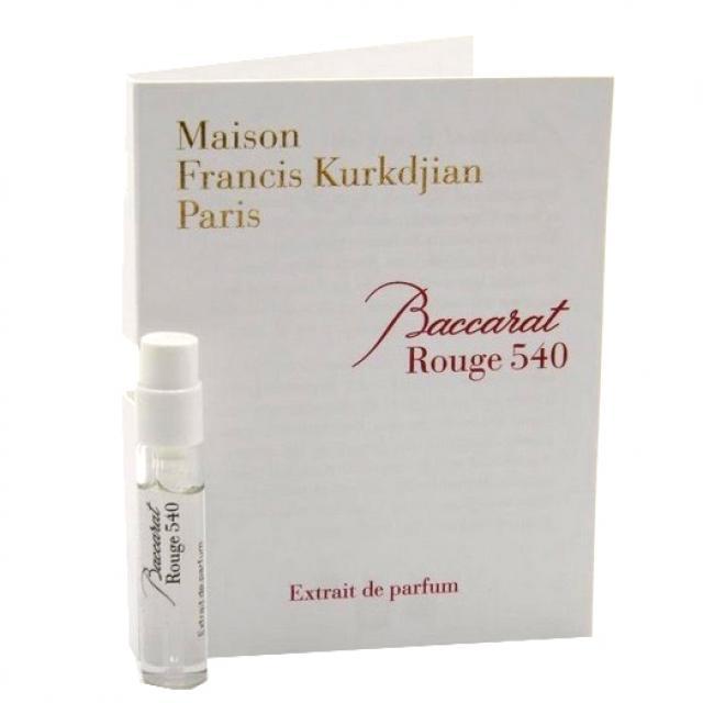Francis Kurkdjian Paris Baccarat Rouge 540 2ml Edp купить в интернет