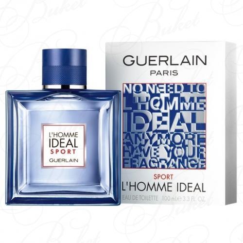 Туалетная вода Guerlain L`HOMME IDEAL SPORT 100ml edt