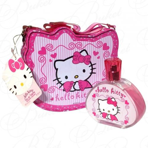 Air-Val International HELLO KITTY SET (edt 100ml+Metal Lunch Box)