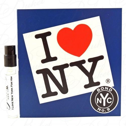 Пробники Bond NO.9 I LOVE NEW YORK FOR HIM 1.7ml edp