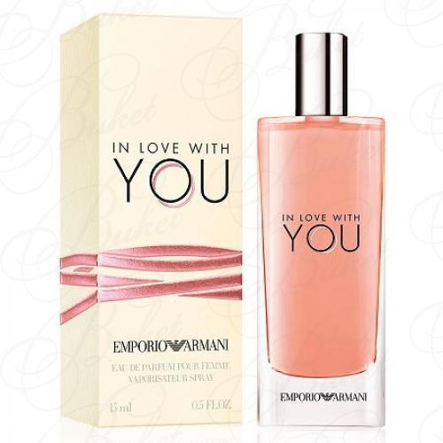 Миниатюры Armani IN LOVE WITH YOU 15ml edp