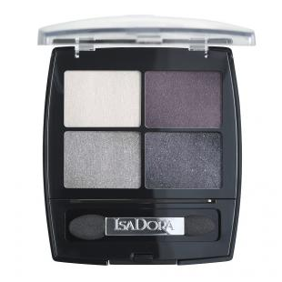 Тени для век ISADORA EYESHADOW QUARTET №37 Crystal Mauve