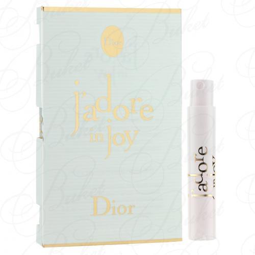 Пробники Christian Dior J'ADORE IN JOY 1ml edt