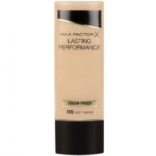 Тональный крем MAX FACTOR MAKE UP LASTING PERFORMANCE №105 Soft Beige/Бежевый