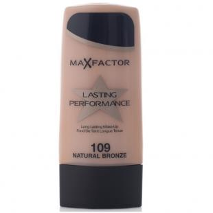 Тональный крем MAX FACTOR MAKE UP LASTING PERFORMANCE №109 Natural Bronze/Бронзовый