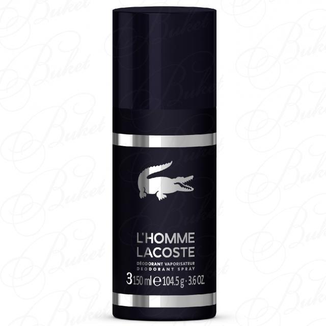 Lacoste L`HOMME LACOSTE deo 150ml купить в интернет-магазине ... d9c45fe6a93ea