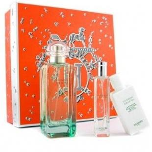 HERMES UN JARDIN SUR LE NIL SET (edt 100ml+b/lot 40ml+edt 15ml)