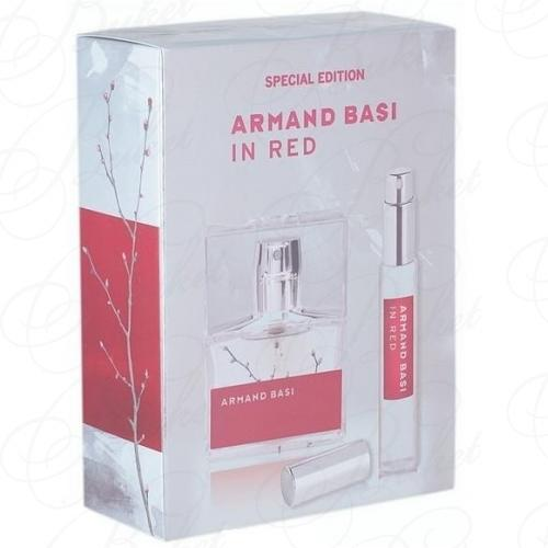 Набор ARMAND BASI IN RED SET (edt 30ml+edt 15ml)
