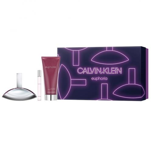 Набор CALVIN KLEIN EUPHORIA SET (edp 50ml+edp 10ml+b/lot 100ml)