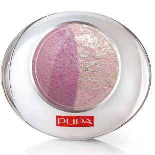 Тени для век PUPA MAKE UP LUMINYS DUO №20 Bubble-Pink/Нежно-розовый-Розовый