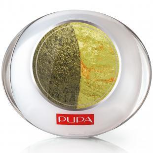 Тени для век PUPA MAKE UP LUMINYS DUO №50 Forest-Water/Болотно-зеленый-Зеленое золото