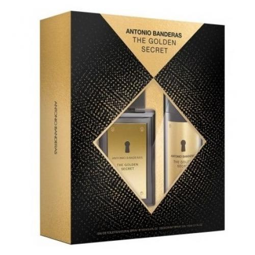 Набор ANTONIO BANDERAS THE SECRET SET (edt 100ml+a/sh balm 100ml)