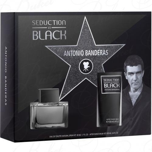 Набор ANTONIO BANDERAS SEDUCTION IN BLACK SET (edt 100ml+a/sh balm 75ml)