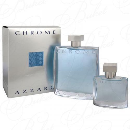 Набор AZZARO CHROME set (edt 100ml+edt 30ml)