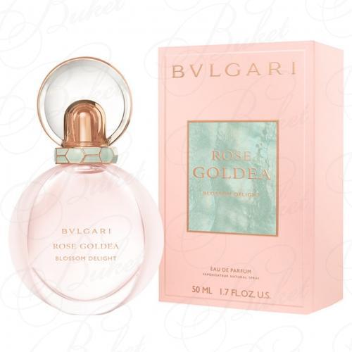 Парфюмерная вода Bvlgari ROSE GOLDEA BLOSSOM DELIGHT 50ml edp