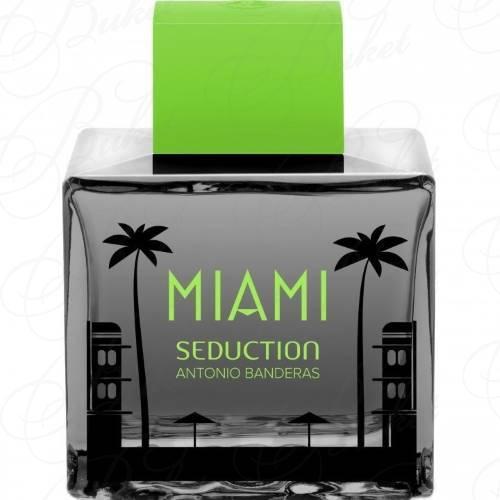 Туалетная вода Antonio Banderas SEDUCTION IN BLACK MIAMI 100ml edt