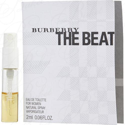 Пробники Burberry THE BEAT 2ml edt