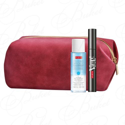 Набор PUPA MAKE UP VAMP! ALL IN ONE MASCARA & TWO-PHASE MAKE-UP REMOVER