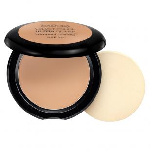 Пудра для лица ISADORA MAKE UP VELVET TOUCH ULTRA COVER COMPACT POWDER №67 Warm Tan