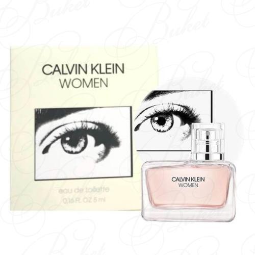 Миниатюры Calvin Klein WOMEN Eau de Toilette 5ml edt