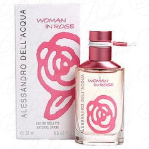 Туалетная вода Alessandro Dell Acqua WOMEN IN ROSE 25ml edt