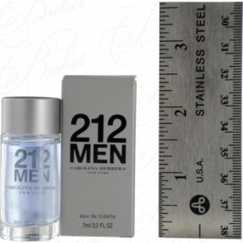 Миниатюры Carolina Herrera 212 MEN 7ml edt