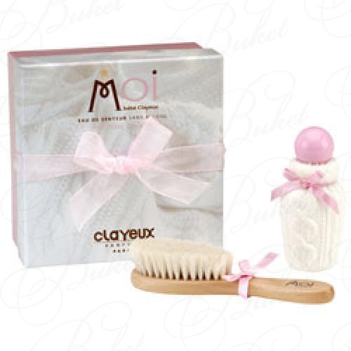 Clayeux MOI BEBE CLAYEUX ROSE НАБОР (Ароматизированная вода 50ml+Щетка для волос)