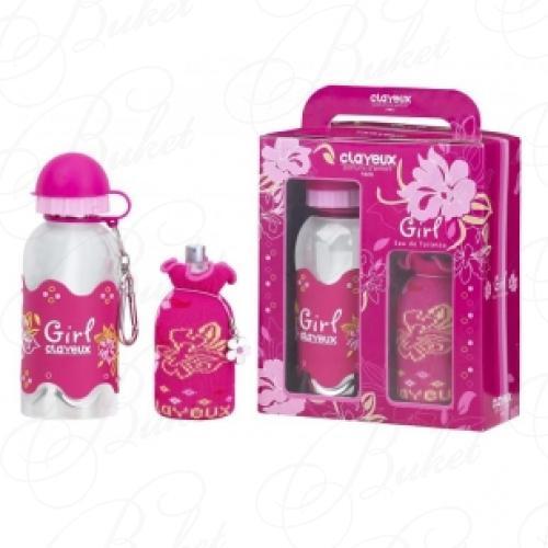 Clayeux CLAYEUX GIRL НАБОР (Ароматизированная вода 100ml+Бутылочка)