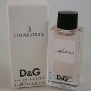 Dolce & Gabbana 3 L'IMPERATRICE 5ml edt
